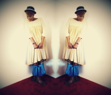 Ma robe Babydoll sur ma petite sœur Fay