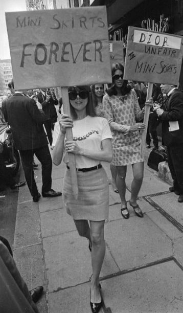 Manif pour Mary Quant