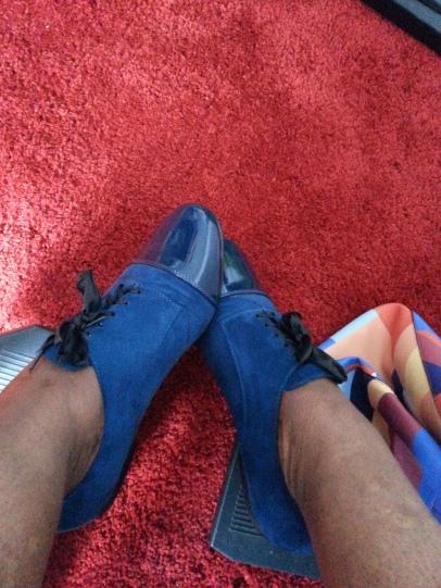 Ma fameuse paire de chaussures Andypola que j'adore