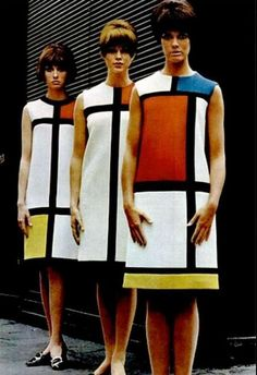 Yves Saint Laurent - Robe Mondrian