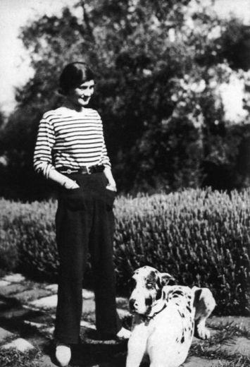 Coco Chanel et son amour du noir et blanc