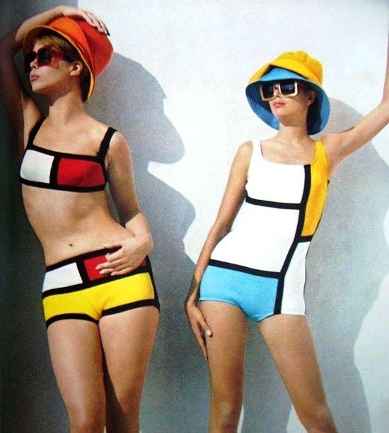 Yves Saint Laurent - Hommage à Mondrian