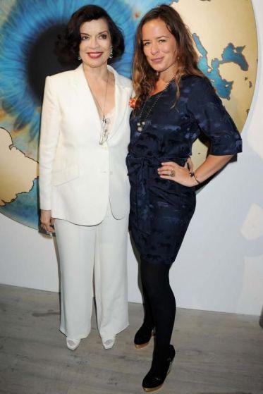 Bianca Jagger et sa fille Jade Jagger