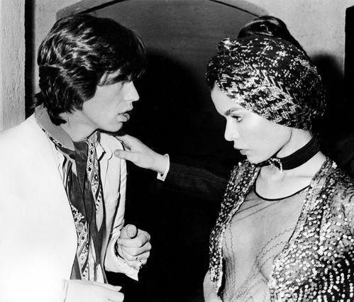 Mick et Bianca Jagger au Studio 54