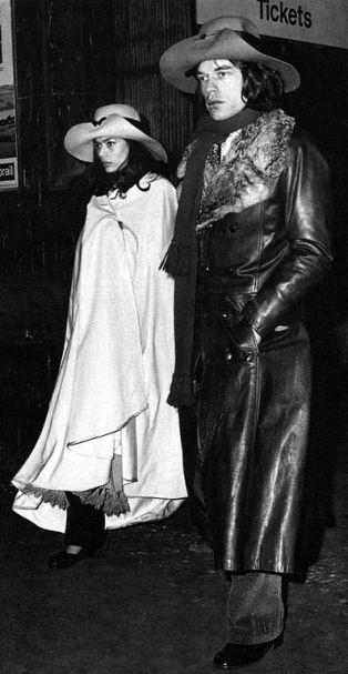 Bianca et Mick Jagger