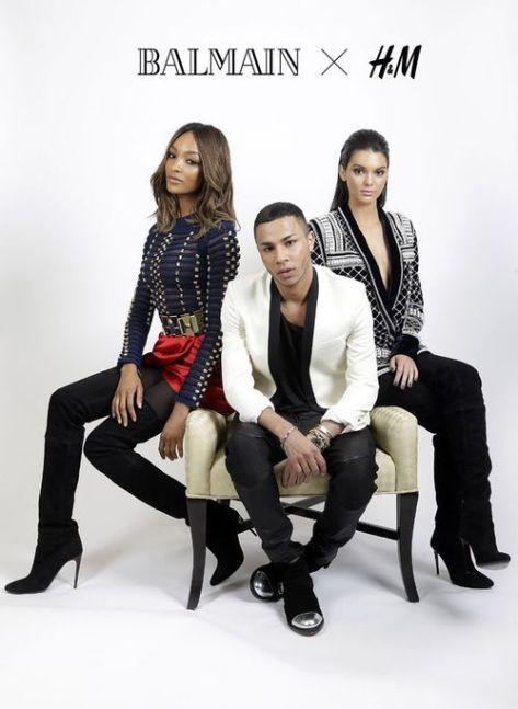 Olivier Rousteing - Balmain pour H&M en 2015