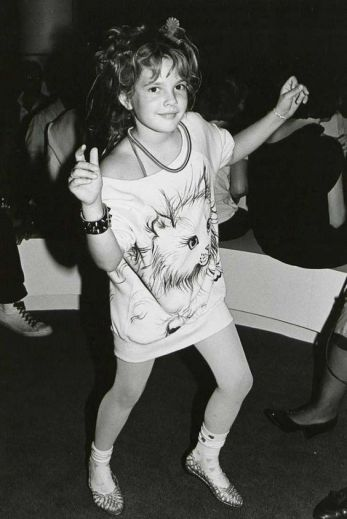 Drew Barrymore au Studio 54