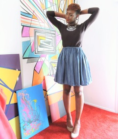Picture by Nafissath Abdoulaye ; Model: Fayçalath