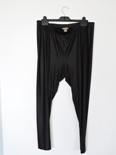 Mon legging effet cuir de chez H&M