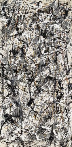 Dripping by Jackson Pollock