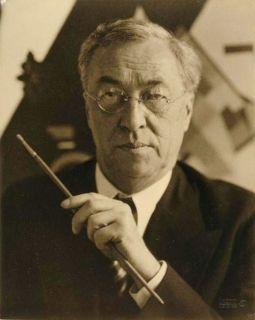 Wassily Kandinsky en 1933 par Hugo Erfurth