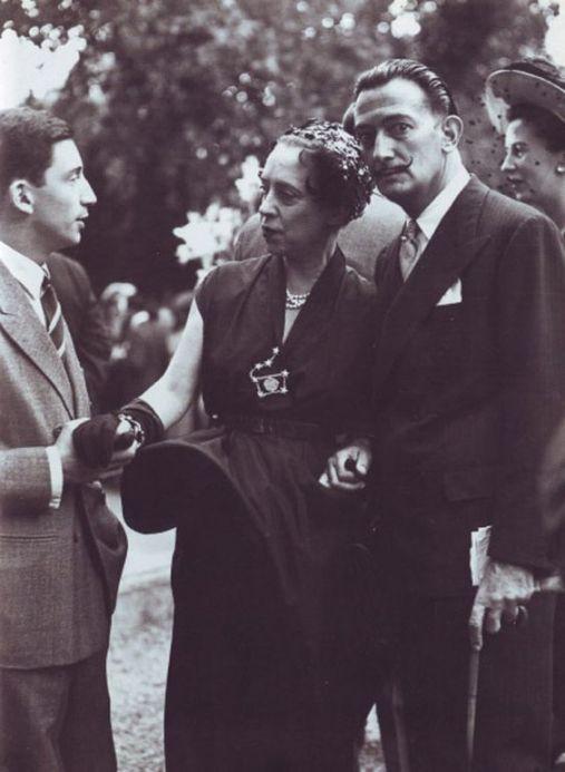 Elsa Schiaparelli et Salvador Dali