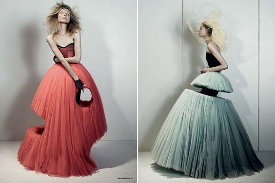 Viktor and Rolf - une vision expérimentale de la mode
