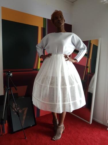 Creation & stylism by Nafissath Abdoulaye AKA N'sqol ; model: Fayçalath