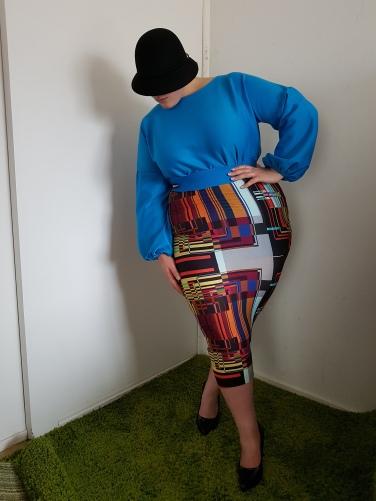 Creation & stylism by Nafissath Abdoulaye AKA N'sqol ; model: Jordane