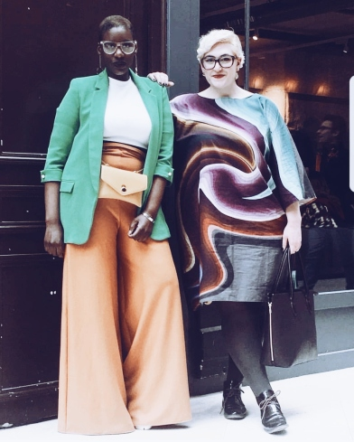 Larissa & Jordane, Pantalon et robe Labi-Trame